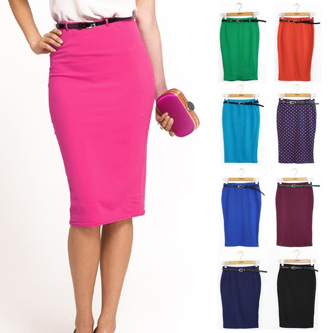 Colored Pencil Skirts - Skirts