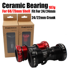 BSA68/73mm  24/24mm 24mm/22mm Support BOTTOM BRACKETS Ceramic Bearing Montambike Accesorios Road Bicycles Parts