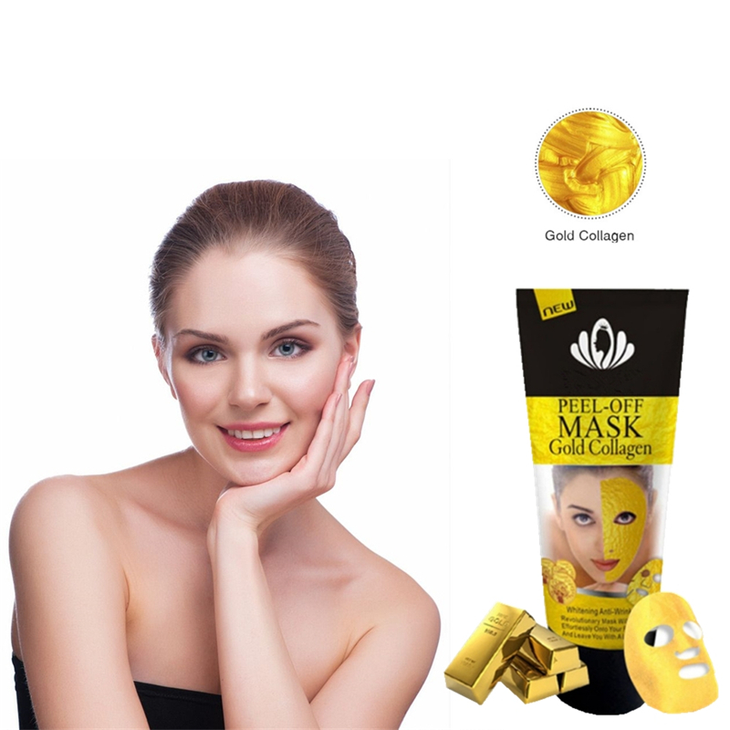 120g/Tube 24K Gold Face Mask Moisturizing Oil Control Anti-Aging Shrink Pores Korean Sheet Facial Mask Cosmetics