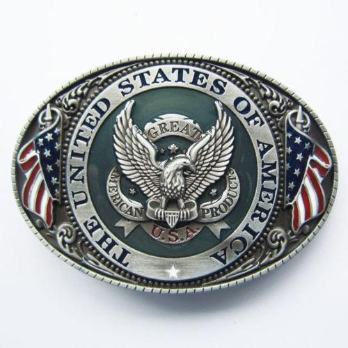 egyéni övcsat nagy kedvezménnyel az egyéni amerikai zászló sas - Művészet, kézművesség és varrás