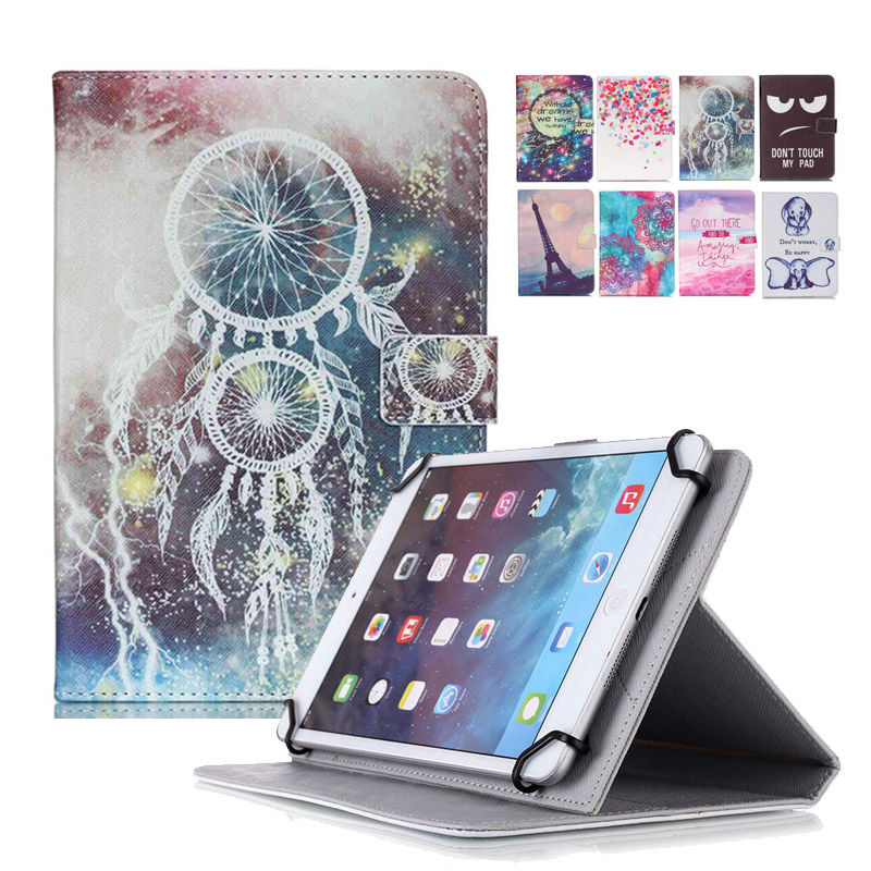 все цены на Tablet Case For Oysters T12 3G 10 inch Cover PU Leather Flip Stand Case funda tablet 10.1 universal bags+Center flim+pen KF553C онлайн