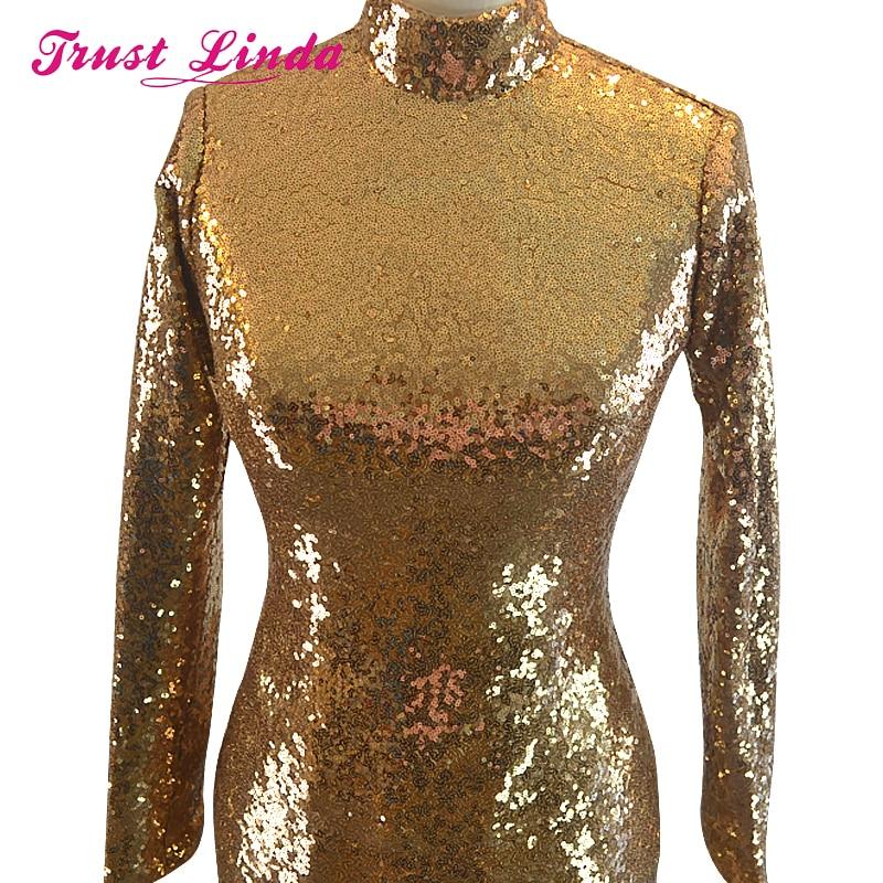 Robe De Soiree 2017 Πολυτελή φορεσιά χρυσή - Ειδικές φορέματα περίπτωσης - Φωτογραφία 3