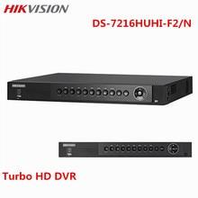 Hikvision 16CH 4K CCTV DVR DS-7216HUHI-F2/N Turbo HD For AHD Analog Camera Onvif Alarm Video Recorder Surveillance DVR