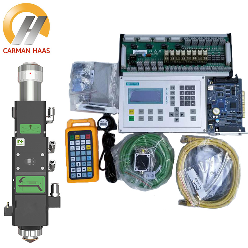 Raytools BT240S 4KW Laser Cutting Head+BCS100 Torch Height Controller Cypcut Control System+FSCUT2000 Cutting Control System