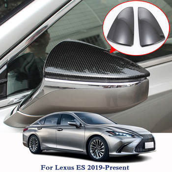 ABS Car Styling For Lexus ES 2019-Present Car Rearview Mirrors Sequins Covers Decoration Chrome Trim Exterior Trim Accessories