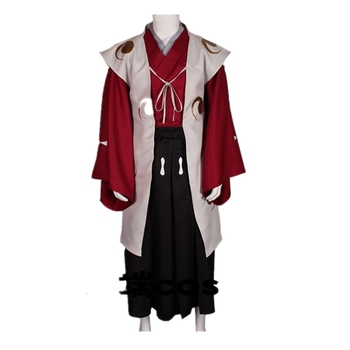 Anime Dororo Cosplay Costume Tahoumaru Kimono Men Costume