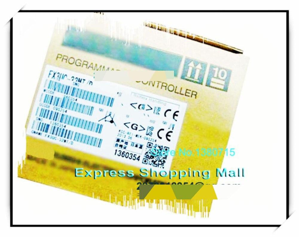 NEW FX3UC-32MT/D PLC Main Unit DI 16 DO 16 Transistor 24V DC new fx3uc 16mt d plc main unit di 8 do 8 transistor 24v dc