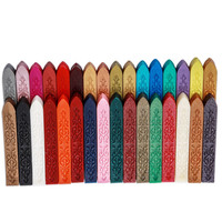 6PCS Promotion 32 Colors Unwicked Sealing Wax Sticks for Postage Card Letter Document Gift Packing & Sealing