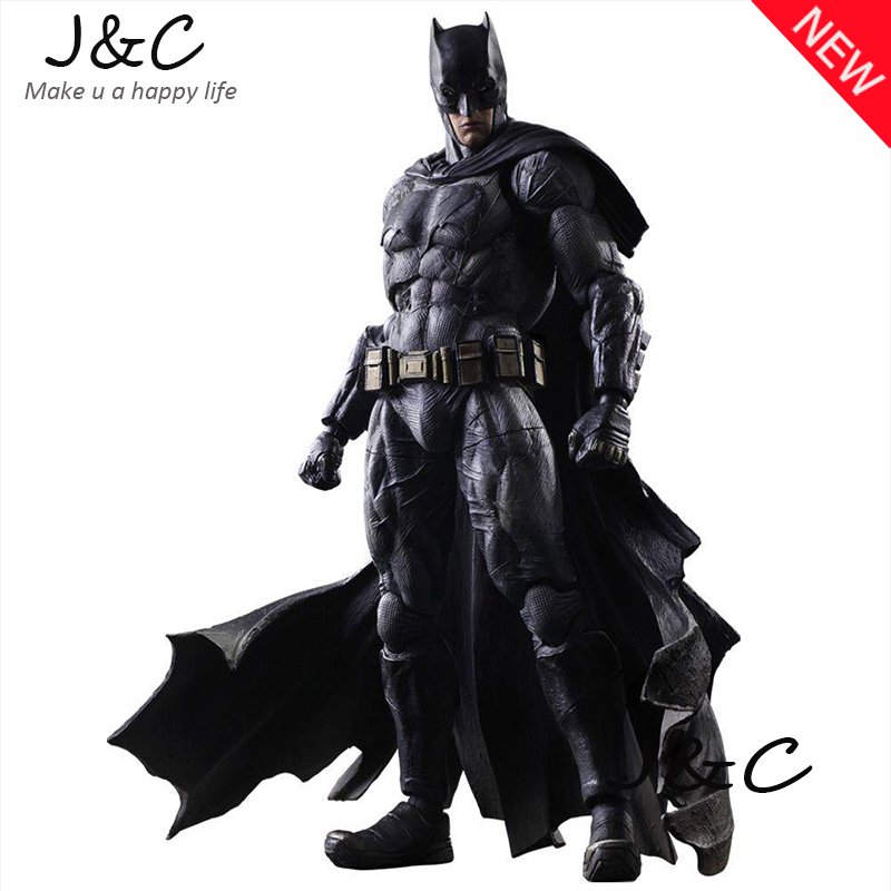 2016 Justice league Superman VS Batman Movie Batman Action Figure 27cm PVC Model Collect Anime Model Toys Juguetes kids toys xinduplan dc comics play arts justice league movie batman bruce wayne movable action figure toys 27cm kids collection model 0271