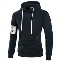 JCCHIEFS New Winter Sweatshirts Men Brand Zipper Pocket Thick Hoodies Men Hoodies Quality Hoodie Mens Hooded