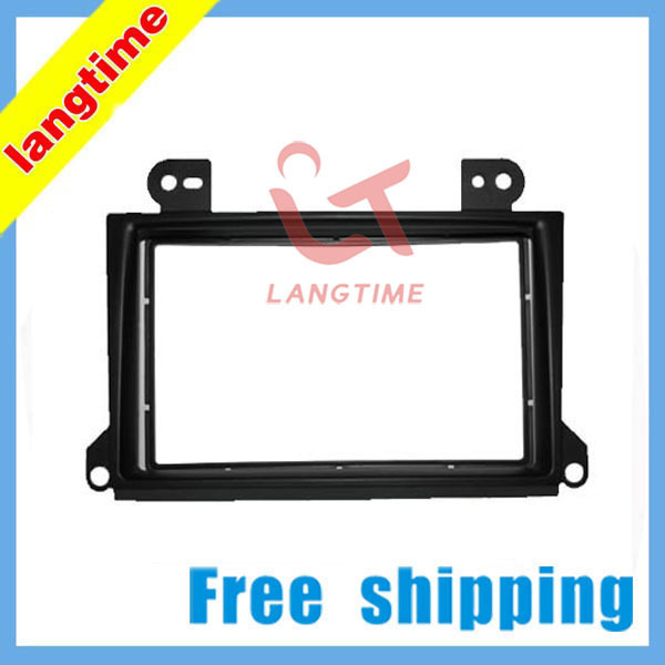 Free shipping-car refitting dvd frame front bezel audio panel for 2000-2007 Mazda MPV,2DIN