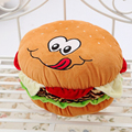 30cm kawaii plush toys hamburgers pillow toys soft pillow cushions baby lovely plush doll children's birthday gift
