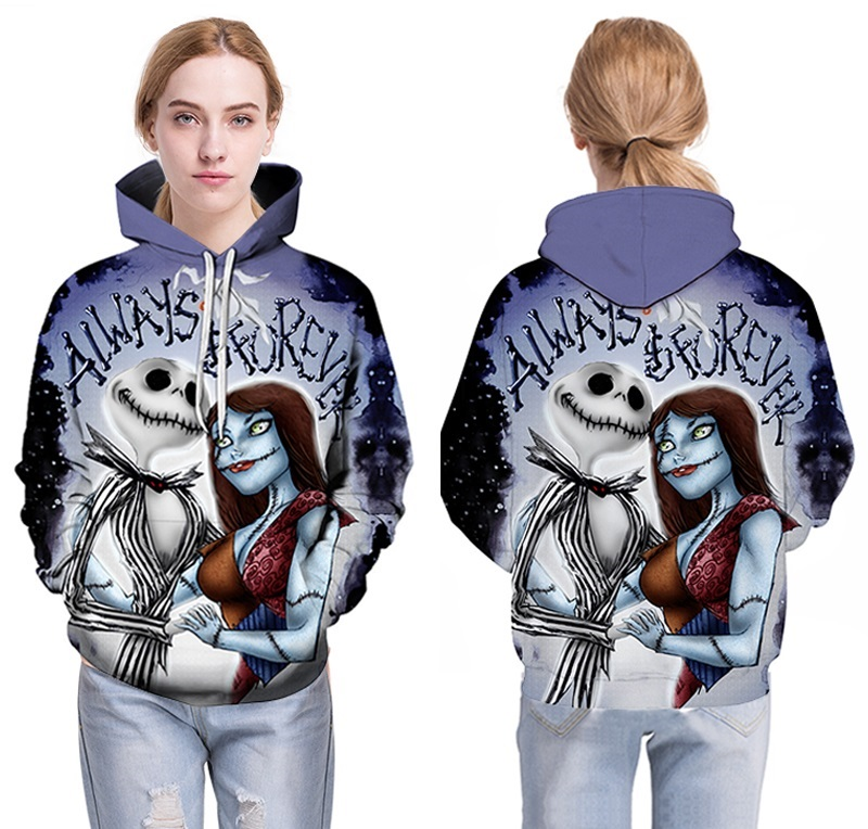 NEW Jack Sally 3D Sweatshrits Men Women Printed Hoodies Hot Sale Quality Fashion Novelty Pullover Casual Tracksuit