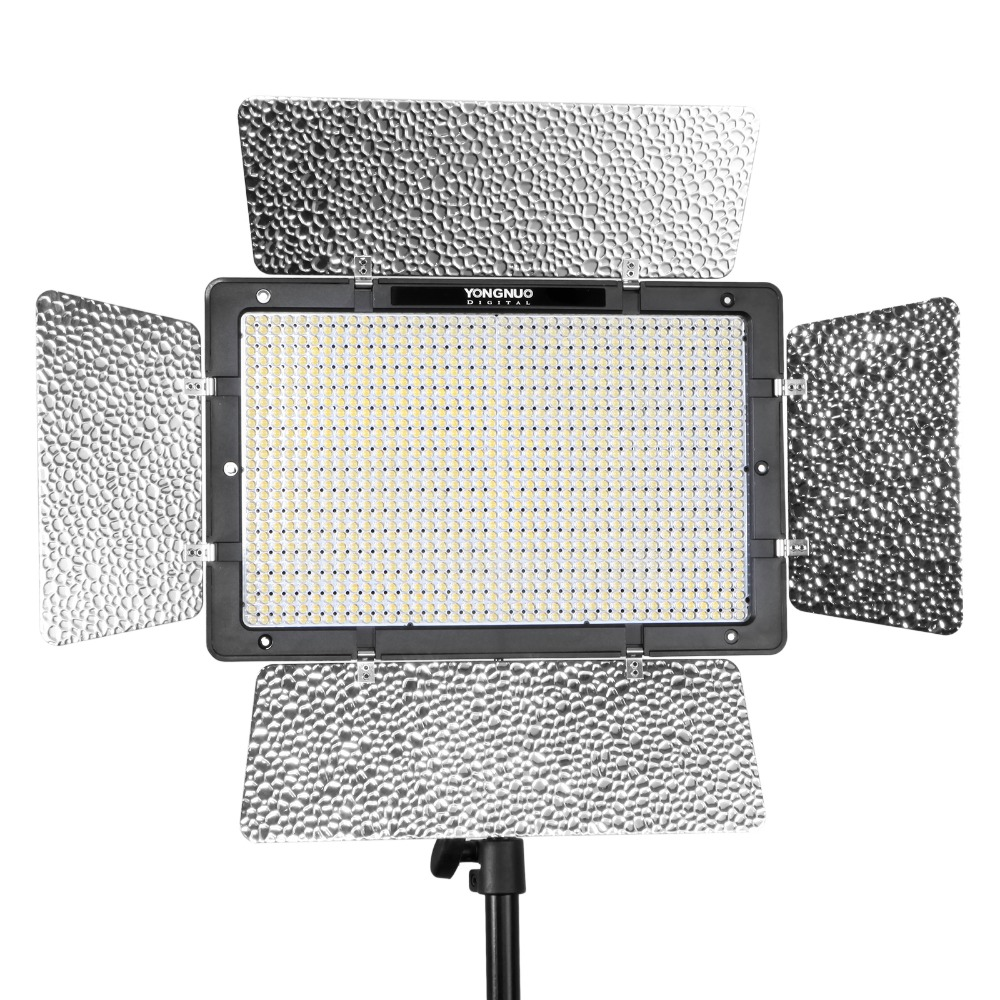 Yongnuo YN1200 светодиодный 3200 5500 K видео свет для Canon Nikon DSLR DV видеокамеры