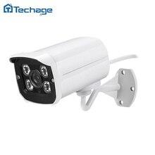 Wide Angle 2.8MM Lens Metal IP66 Waterproof Outdoor 720P 960P Bullet IP Camera 4PCS ARRAY LED Board ONVIF CCTV Security Camera