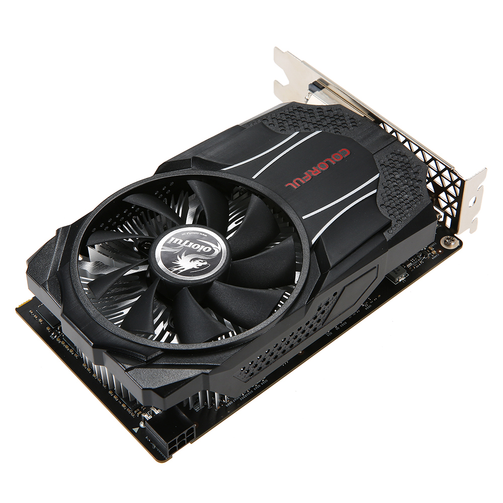где купить Colorful NVIDIA GeForce GTX1060 Mini OC 6G Graphics Card 1531/1746MHz 8Gbps GDDR5 192bit PCI-E 3.0 with HD DP DVI-D Port дешево