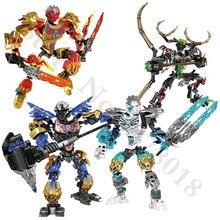 цена на BIONICLE Umarak Hunter Figures Building Block toys Compatible With legoings 71310 BIONICLE Gifts