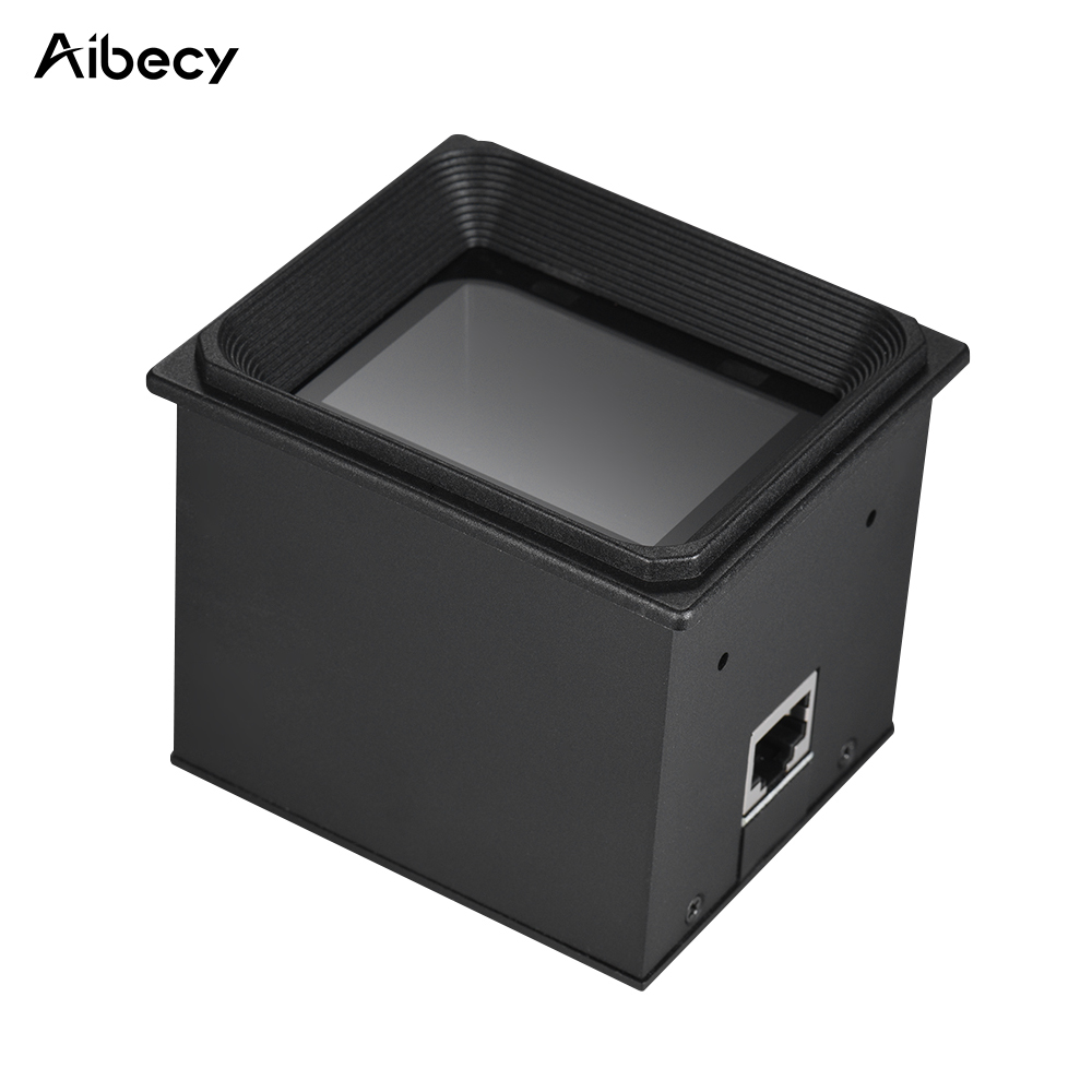 Aibecy 2D QR 1D Embedded barcode scanner with USB RS232 Cable Phones Code Autoscanner Module Bar