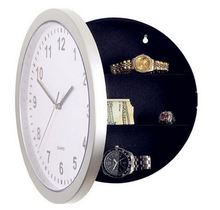 Household Decoration Wall Clock Storage Box Creative Novelty Money Watch Jewellery Storage Container Safty Box 0604