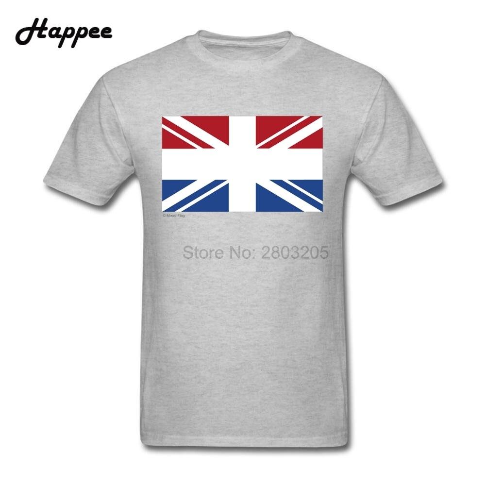 T shirt design uk cheap - Oversize Funny Men T Shirts Netherlands Uk Mixed Flag Clothing 100 Cotton Short Sleeve T Shirt Men Xs 3xl Cheap Sale Shirts Top