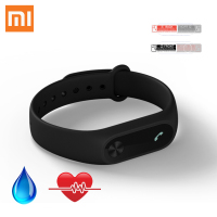 In Stock New 2016 Original Xiaomi Mi Band 2 Mi Band 1A Smart Heart Rate Fitness