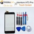 HT3 HOMTOM Tela Sensível Ao Toque Pro 100% Original Substituição Do Painel de Digitador Touch Screen Display para HOMTOM HT3 Pro Smartphones