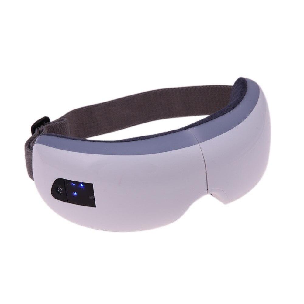 Appareil de massage des yeux électrique sans fil thérapie de chauffage pression d'air musique oeil SPA yeux dispositif de soins de soulagement du Stress soins de santé