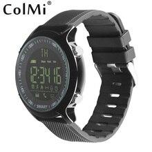 ColMi Smart Uhr VS506 Wasserdichte 5ATM IP68 Schrittzähler Kalorien Erinnerung Sport Männer Band Armband Smartband Für Android iOS