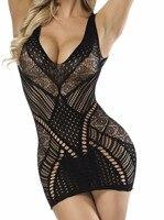 Exotic Apparel Women Baby Dolls Exotic Dress sexy lingerie sex costumes hollow nightwear intimates half slip  Backless underwear