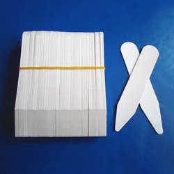 200 шт. 2 дюйм(ов) белый/прозрачный пластик воротник Brace воротник остается кости жесткости остается для мужская одежда