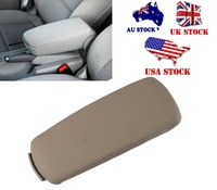 High Quality Auto Leather Beige Arm Rest Console Box Armrest Lid Cover For Audi A4 B7