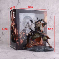 20cm Shadows Die Twice Wolf Divine Heir Ninja Wolf  Action Figure Model Toys Doll