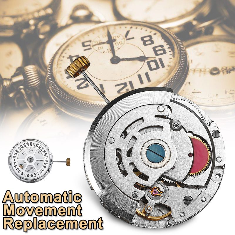 Automatic Movement Replacement Day Date Chronograph Watch Accessories Repair Tools Kit Parts Fittings For 2813/8205/8215