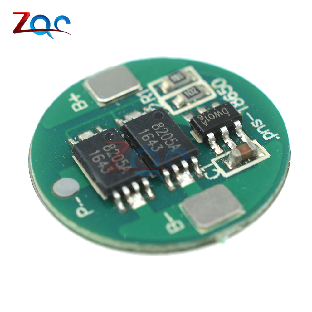 2Pcs Dual MOS Battery Protection Board for 18650 Lithium Battery