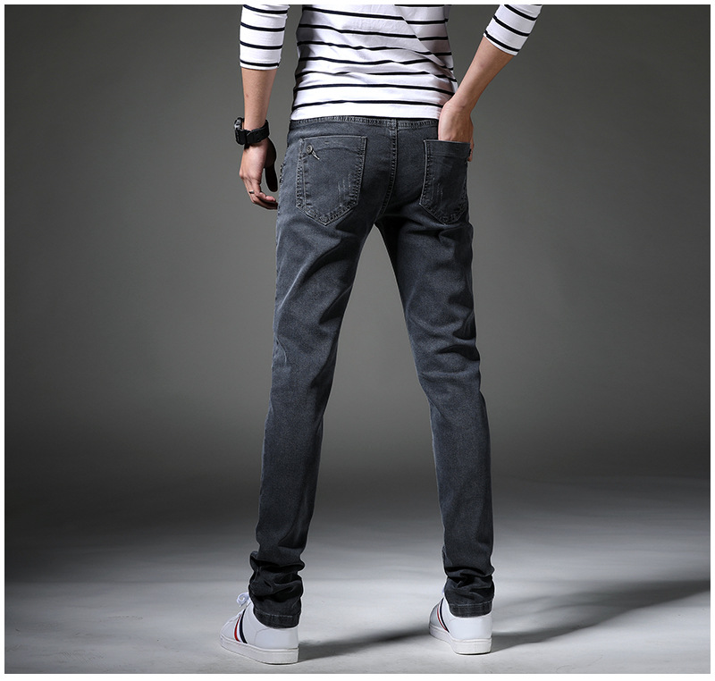 13 Style Design Denim Skinny Jeans Distressed Men New 2019 Spring Autumn Clothing Good Quality 12