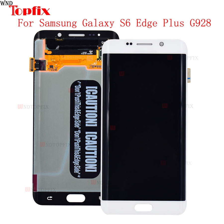 Lcd Display Touch Screen DigitizerAssembly For Samsung Galaxy S6 Edge Plus G928F G928A G928I Super AMOLED LCD Replacement Parts (6)