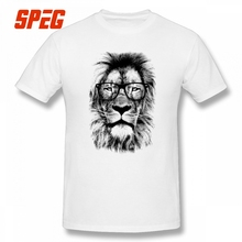 02d30c74208b SPEG King Lion Library Short Sleeve T Shirts O Neck Tee Shirt Purified  Cotton Male. US  11.70   piece Free Shipping