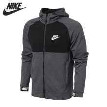 Original New Arrival 2017 NIKE NSW AV15 HOODIE FZ FLC Men's Jacket Hooded  Sportswear
