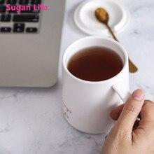 Sugan Life натуральный мрамор фарфоровая кружка для кофе Босс Леди кружки чай молоко кружки с крышками и кружки парные чашки Креативный Свадебный Подарок