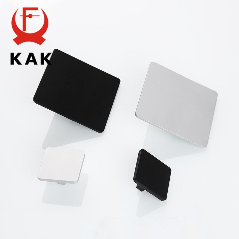 KAK 5pcs/lot Aluminum Alloy Door Handles Simple Design Classical Pulls Cabinet Handles Matt Finish Furniture Handle Hardware 1pc simple european aluminum alloy ivory white door handles