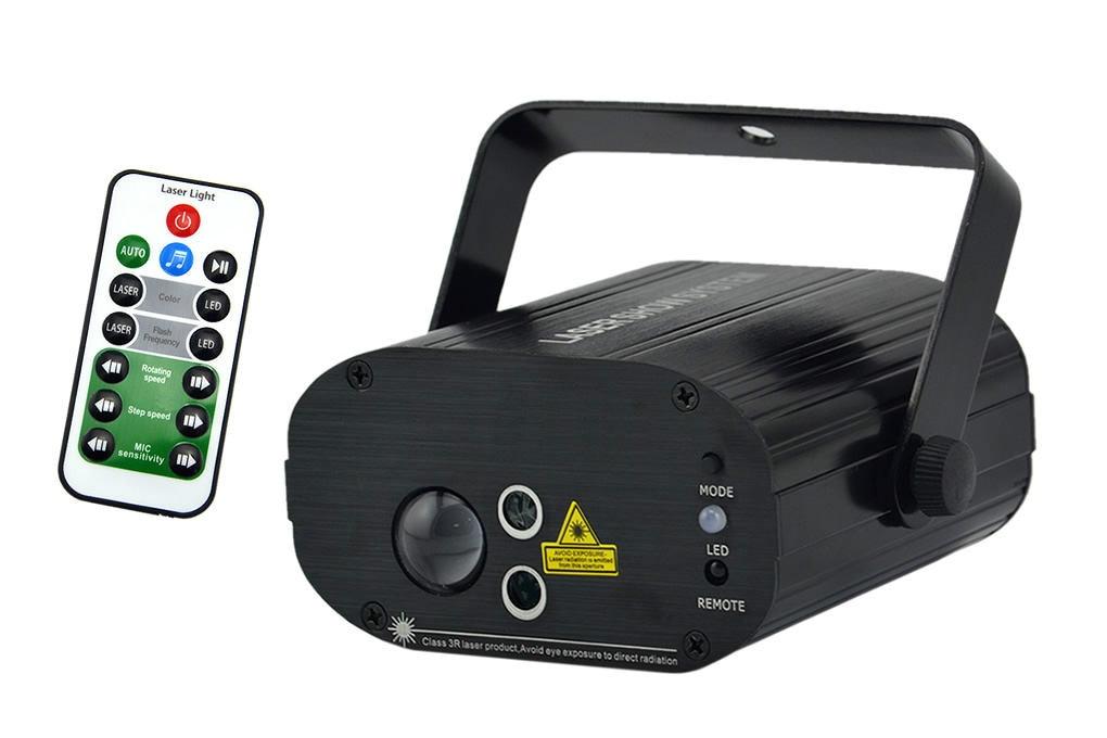 Fete de Noel DEL rotation lumière laser Christmas Outdoor Display Vert Rouge