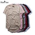 Algodón Camiseta de Los Hombres 2017 Verano Streetwear Hip Hop Camisetas Substaintial T-shirt de Manga Corta Cuello O Hombres Tops Para Hombre ropa