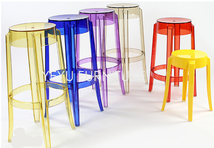 Aliexpress.com  Buy Modern Design Transparent Clear bar stool Counter Stool Cafe Loft Living Room Plastic stool Seat Height 64cm Colorful Bar Chair from ... & Aliexpress.com : Buy Modern Design Transparent Clear bar stool ... islam-shia.org