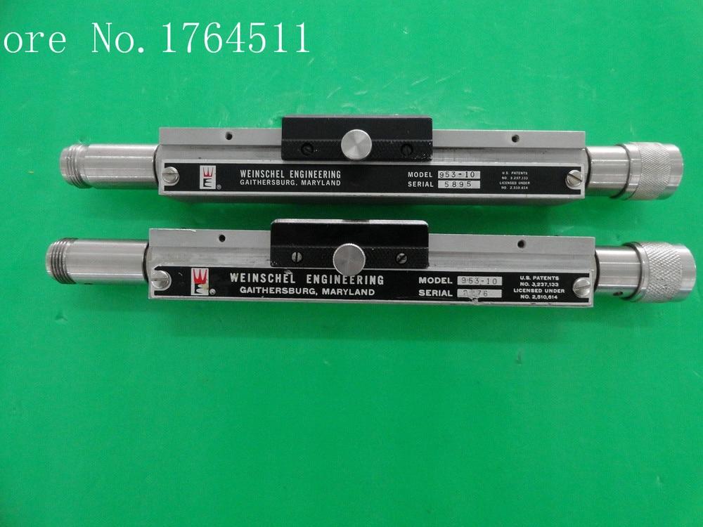 [BELLA] Adjustable Variable Attenuator Weinschel 953-10 10dB 2.5-11GHz Extension