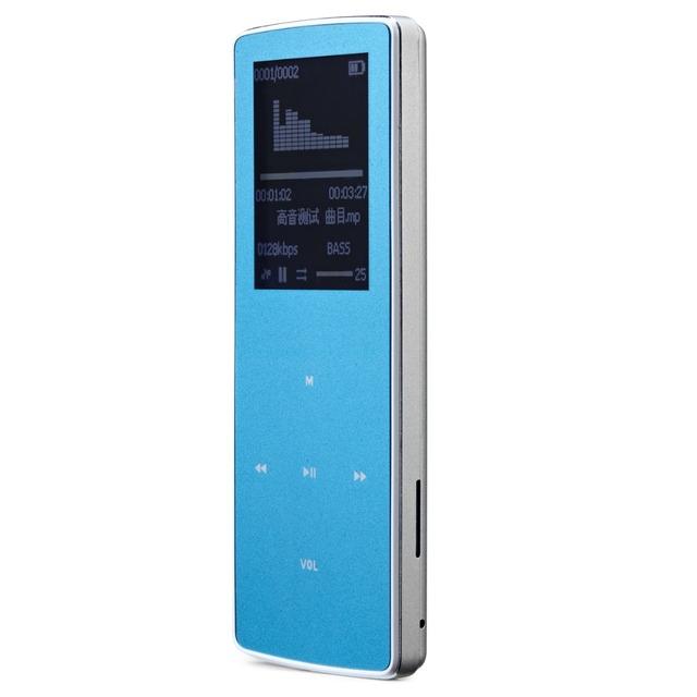 Nueva Original ONN W6 Bluetooth Deportes Reproductor de música MP3 8 GB con 1.8 Pulgadas de Pantalla 100 horas sin pérdidas de alta calidad grabadora de FM