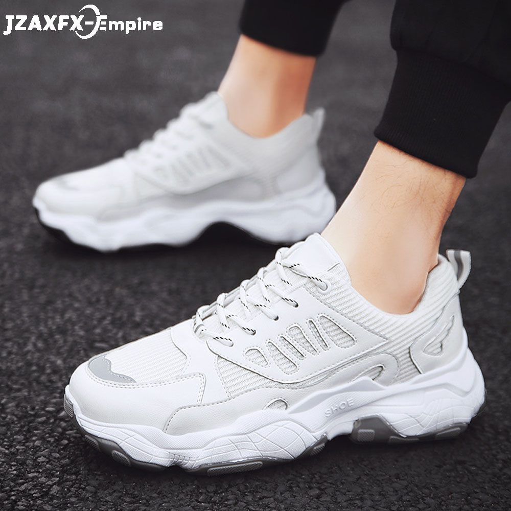 2019 Fashion Sneakers Men Breathable Mesh Casual Shoes Comfortable Tenis Masculino Adulto
