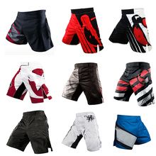 Professional Boxing Pants for Men Printing MMA Shorts Breathable Fighting Muay Thai Training Pants Gym Sanda Sports Clothing
