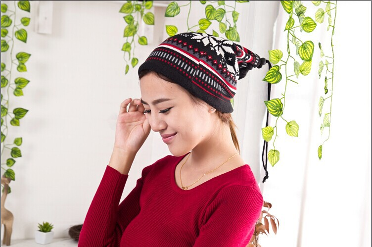 1 pcs,2014 new women two use empty hat sacrf flannel Autumn warm scarf cap multicolor free shipping