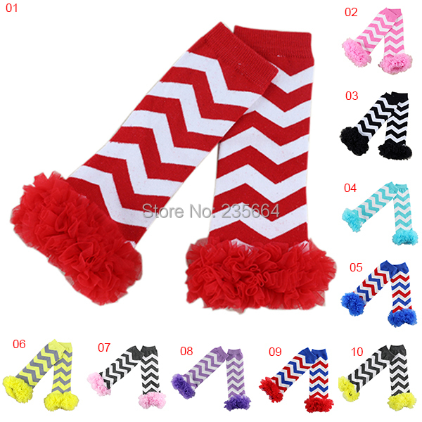 Promotion Real Retail Chevron Design Girl Boy Baby Warmers Ruffle Zig Zag Leg Warmers For Girls Accessories Warmer
