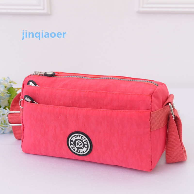 famous brand of nylon Women's shoulder bag and waterproof messenger bag 10 Colour Casual fashion